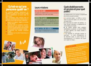 Plaquette de présentation des personnes qualifiées - verso