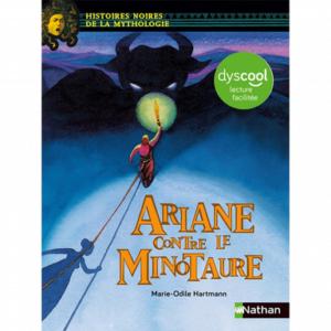"""Couverture du livre """"Ariane contre le minotaure"""""""