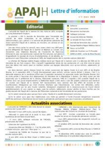 Lettre d'info APAJH80, Page 1