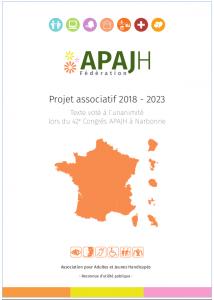 couverture du projet associatif de l'APAJH