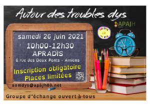 Affichette réunion du 21 juin 2021
